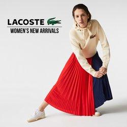 ラコステのカタログに掲載されているファッション ( あと2日)