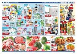 トライアルのカタログに掲載されているスーパーマーケット ( 今日公開)