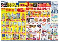 トライアルのカタログに掲載されているスーパーマーケット ( 明日で期限切れ)