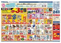 トライアルのカタログに掲載されているスーパーマーケット ( あと3日)
