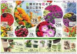 イオンのカタログに掲載されている花 ( あと18日)