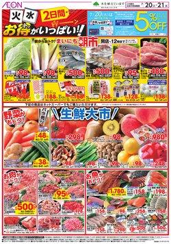 イオンのカタログに掲載されているスーパーマーケット ( 明日で期限切れ)