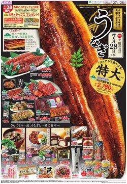 イオンのカタログに掲載されているスーパーマーケット ( 昨日に投稿)