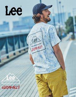 LEEのカタログに掲載されているLEE ( あと19日)