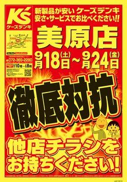 ケーズデンキのカタログ( 明日で期限切れ)