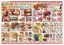 スーパーアルプスのカタログに掲載されているスーパーマーケット ( 今日で期限切れ)