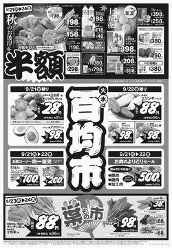タイヨーのカタログに掲載されているスーパーマーケット ( 昨日に投稿)