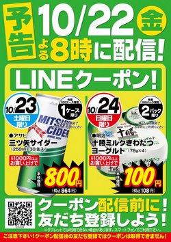 さえきのカタログに掲載されているスーパーマーケット ( 今日公開)