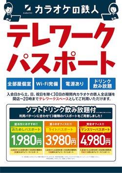 カラオケの鉄人のカタログに掲載されているカラオケ  &  エンターテイメント ( 今日公開)