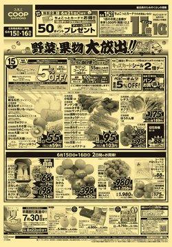 コープさっぽろのカタログに掲載されているスーパーマーケット ( 明日で期限切れ)