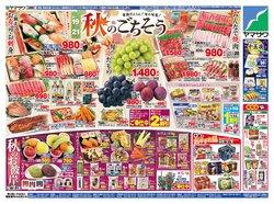 ヤマザワのカタログに掲載されているスーパーマーケット ( 今日で期限切れ)