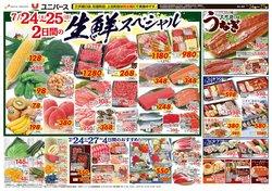 ユニバースのカタログに掲載されているスーパーマーケット ( 今日で期限切れ)