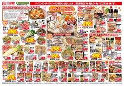 一号舘のカタログに掲載されているスーパーマーケット ( 明日で期限切れ)
