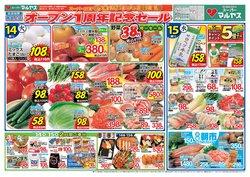 マルヤスのカタログに掲載されているスーパーマーケット ( 今日で期限切れ)