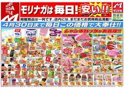 スーパーモリナガのカタログ( 明日で期限切れ)