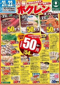 エーコープ北海道のカタログに掲載されているスーパーマーケット ( 今日で期限切れ)