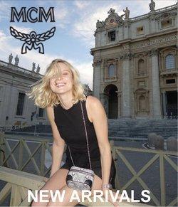 MCMのカタログに掲載されているMCM ( あと25日)
