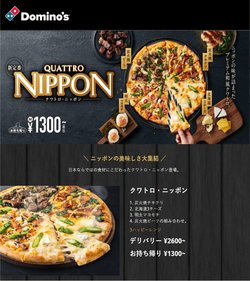 ドミノ・ピザのカタログ( あと4日)