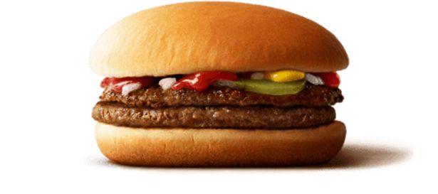 倍ハンバーガーのオファーを¥210で