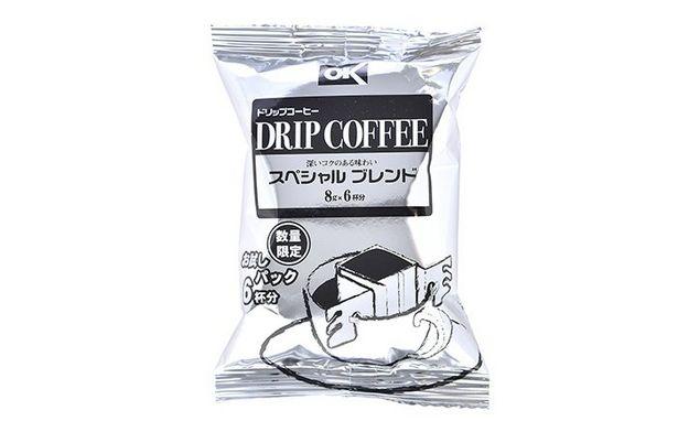オーケー ドリップコーヒー スペシャルブレンド(レギュラー)8g×6杯のオファーを¥99で