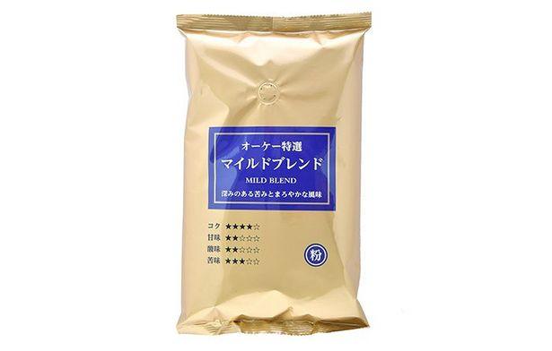 オーケー 特選 マイルドブレンド 粉(レギュラーコーヒー) 500gのオファーを¥399で