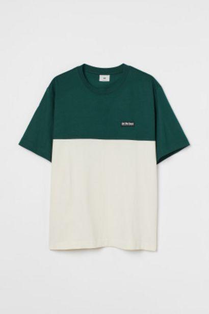 カラーブロックTシャツのオファーを¥1499で