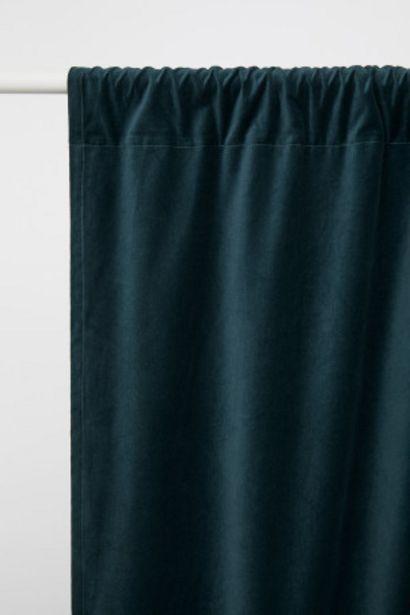 ベルベットカーテン 2枚セットのオファーを¥3999で