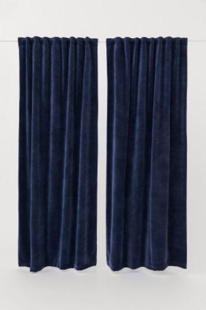 ブラックアウトカーテン 2枚セットのオファーを¥9999で
