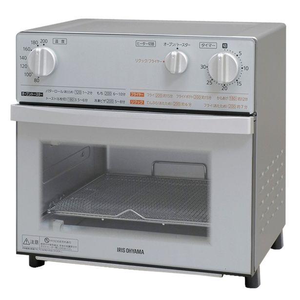 アイリスオーヤマ(iris Ohyama) ノンフライ 熱風 オーブン トースター シルバー Fvx-d3b-sのオファーを¥16280で