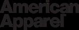 ロゴ アメリカンアパレル